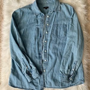 Talbots denim shirt